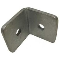Angle Bracket 50x50mm  5mm Thickness Zinc 2 Holes