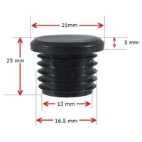 Long Neck Plastic Round Cap 15NB