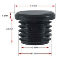 Long Neck Plastic Round Cap 50NB