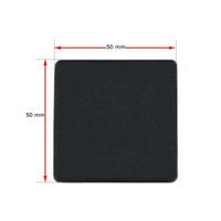 Plastic square cap 50x50mm (2.5-4mm wall thickness)