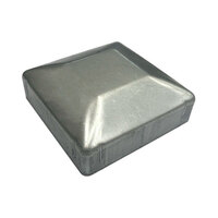 Steel Galvabond Post End Cap for Tube size  50x50mm - Zinc