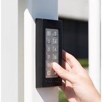 Digital Wired Keypad for Gate Slimstone in Black Colour