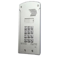 GSM Wireless Communicator - Single Station Intercom with Front Keypad- Solar System