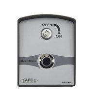 Single push button with key - Wireless