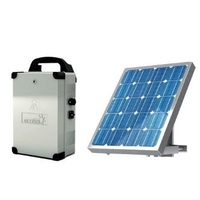 BFT SOLAR POWER KIT INC SOLAR PANEL & BATTERY - FOR BFT GATE MOTORS