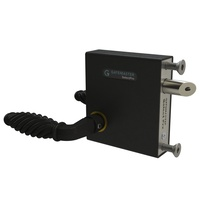 Swing Gate Bolt on Lock latch  to fit 10-30mm Frames with Traditional Handle