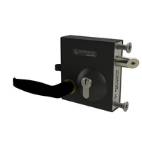 Swing Gate Bolt on Lock latch to fit 10-30mm Frames with  Lever Handle