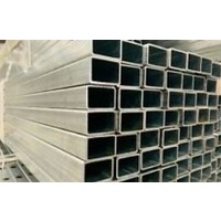 Galvanised Steel Post size size 50x25x1.6mm - 8000mm long image