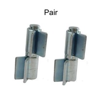 Heavy Duty Weld on Swing Gate Shackle Hinge-Pin 27mm - pair up to 1200kg gate