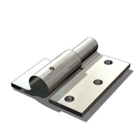 Swing Gate Weld to Screw hinge 16mm RH / pair - Zinc plated