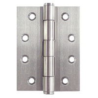 Steel Butt Hinges 100x75x2.5mm finished - Zinc plated