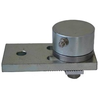 Stainless steel bearing hinge adjustable 750kg Bottom only image