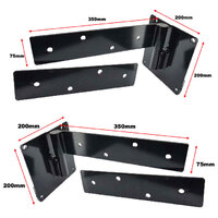 Heavy Duty Strap Hinge Right & Left Side  image