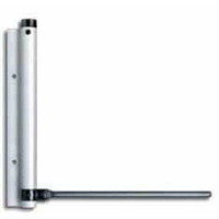 Spring Arm Door Closer : Silver