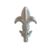 Aluminium Spear Top / Picket Fence Queen Male 19mm
