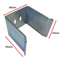 Sliding Gate Holder Bracket 65mm