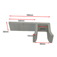 Aluminium Sliding Gate Holder 40mm image