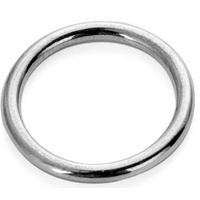Steel Decorative Ring size 100x8mm zinc plated finished
