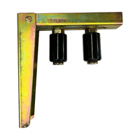 Sliding Gate Top Guide Holder  210x225mm with 2 rollers 210x225mm Max 110mm