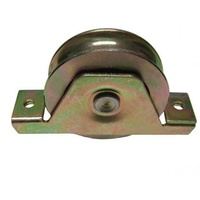 Sliding Gate Wheel/Rollers for U Groove  80mm Internal -Double Bearing