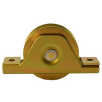 Sliding Gate Wheel V Groove 90mm Double bearing - Italian Made